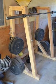 Homemade Wood Gym