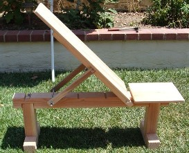 Build Wood Workout Bench